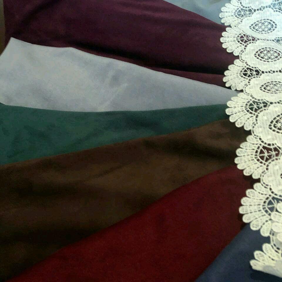 Ткань замша искусственная 6 цветов  Италия, Замша, Москва,  Фото №1