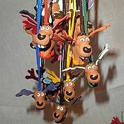 Сувениры и подарки handmade. Livemaster - original item Elks. Handmade.