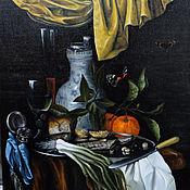 Картины и панно handmade. Livemaster - original item Still-life. Copy of the painting Juriaen van Streek - Snack. Handmade.