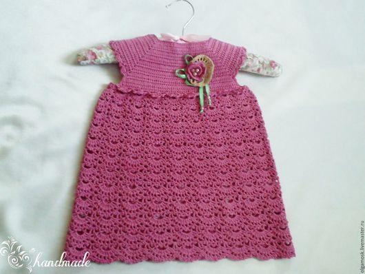 Одежда для девочек, ручной работы. Ярмарка Мастеров - ручная работа. Купить Платье Розочка. Handmade. Платье, платье для крещения