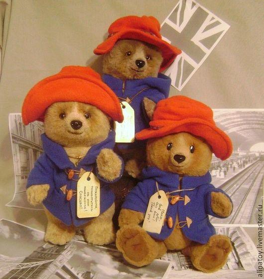 Мишки Тедди ручной работы. Ярмарка Мастеров - ручная работа. Купить Медвежонок Падди, из книжки. Handmade. Бежевый, падди, ключик