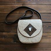 Сумки и аксессуары handmade. Livemaster - original item Bag made of genuine leather in boho style