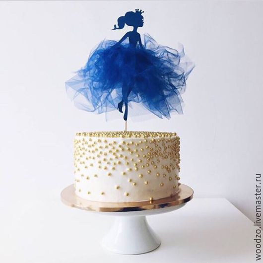 """Аксессуары для фотосессий ручной работы. Ярмарка Мастеров - ручная работа. Купить Топер  в торт """"Фея"""". Handmade. Топер, Принцесса на горошине"""