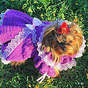 """Для домашних животных, ручной работы. Ярмарка Мастеров - ручная работа Платье """"Королевское"""". Handmade."""