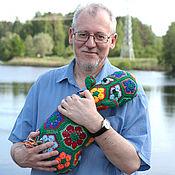 Куклы и игрушки handmade. Livemaster - original item Hippo Emerald (Izia). Handmade.