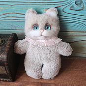 Куклы и игрушки handmade. Livemaster - original item Plush cat Marshmallow. Handmade.