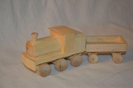Миниатюрные модели ручной работы. Ярмарка Мастеров - ручная работа. Купить Паровоз из дерева. Handmade. Паровоз, заготовки