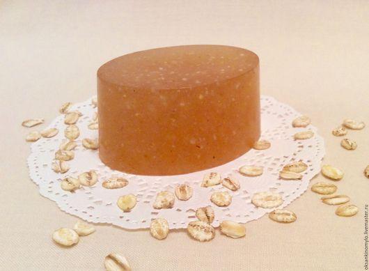 Мыло с мёдом и овсянкой
