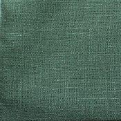 Материалы для творчества ручной работы. Ярмарка Мастеров - ручная работа Лён 100%. Темный зеленый. Handmade.