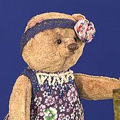 Куклы и игрушки ручной работы. Ярмарка Мастеров - ручная работа Мишка тедди Дарёна (17,5 см). Handmade.