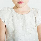 Работы для детей, handmade. Livemaster - original item Children`s felted dress. Handmade.