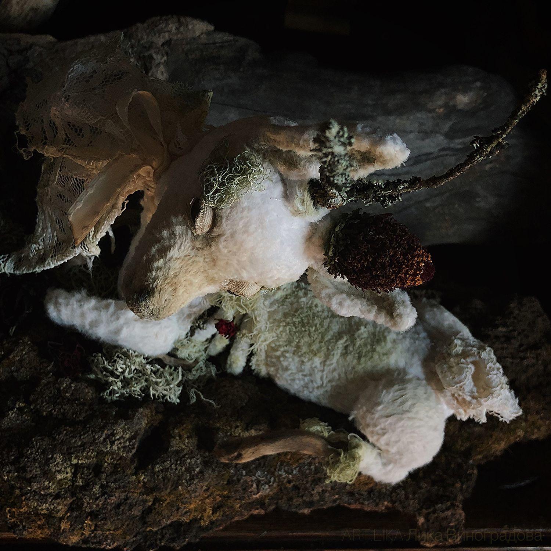 Surreal Deer. OOAK, Тедди Зверята, Апрелевка,  Фото №1