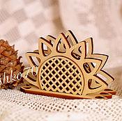 handmade. Livemaster - original item Napkin holder made of cedar