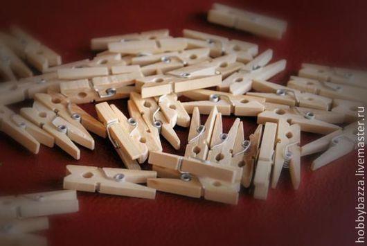 деревянные декоративные прищепки