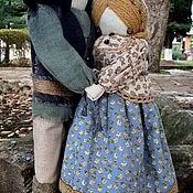 """Подарки ручной работы. Ярмарка Мастеров - ручная работа Народная кукла-оберег """"Мурашкинская парочка"""". Handmade."""