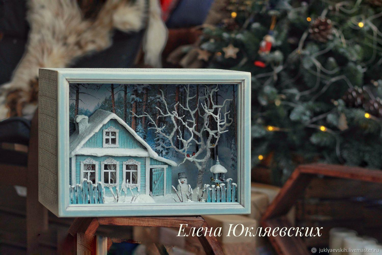 Деревенский дом, Новогодние композиции, Курган,  Фото №1