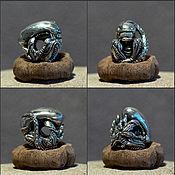 Материалы для творчества handmade. Livemaster - original item Xenomorph charm. Handmade.