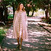 Одежда ручной работы. Ярмарка Мастеров - ручная работа Платье-плащ Перламутр. Handmade.