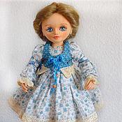 Куклы и игрушки ручной работы. Ярмарка Мастеров - ручная работа Катюша, авторская текстильная будуарная кукла. Handmade.