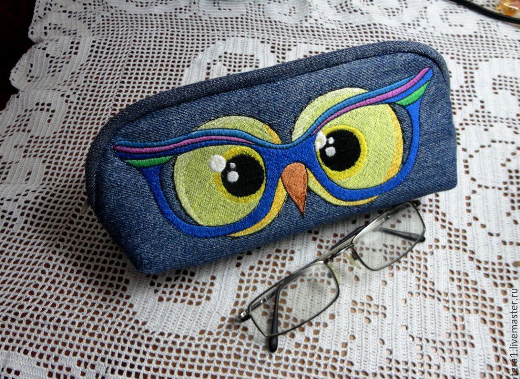 Glasses case textile Owl, Eyeglass case, Krasnodar,  Фото №1