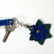 Сумки и аксессуары handmade. Livemaster - original item Keychain in stock (genuine leather). Handmade.