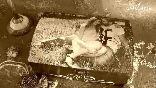 шкатулка декупаж, декупаж шкатулки, шкатулка с фото, шкатулка с вашим фото, шкатулка в подарок, шкатулка на память, шкатулка для фото, шкатулка для писем, шкатулка для мелочей
