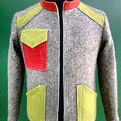 Одежда handmade. Livemaster - original item Men`s felted jacket