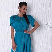 Одежда handmade. Livemaster - original item Silky dress, sea green, large and small sizes.. Handmade.