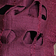 Жилеты ручной работы. Заказать Жилетка- палантин из шерсти и вискозы. Ирина Роик (Irinafelting). Ярмарка Мастеров. Бежевый, handmade, вискоза