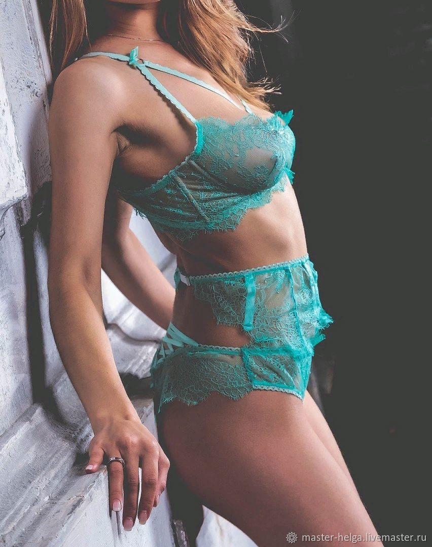 8f713b2f7583 Underwear & Pajamas handmade. Livemaster - handmade. Buy A set of Lacy  lingerie Fleur ...