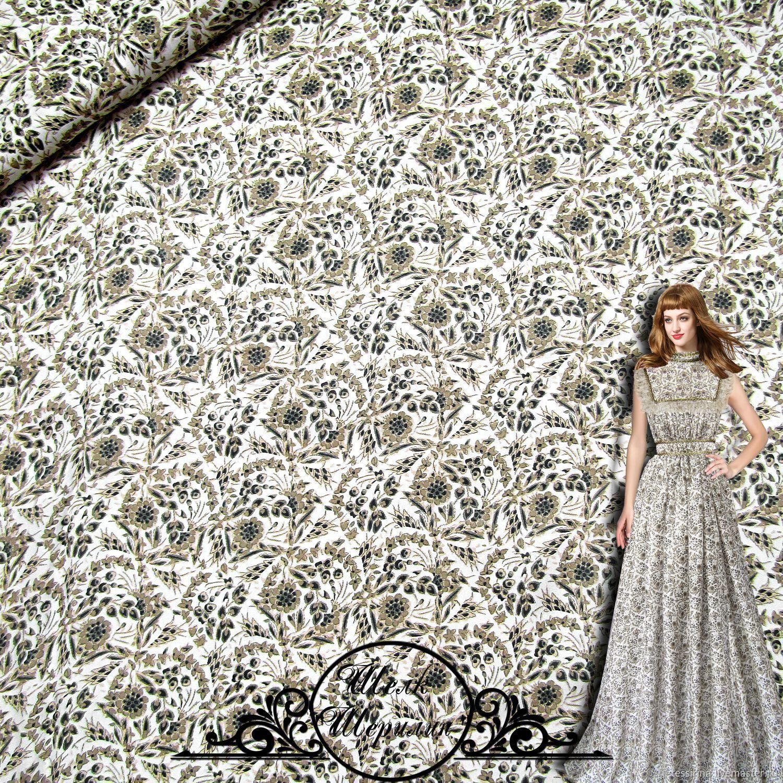 "Шелк-атлас ETRO ""Шерилин"" итальянские ткани, Fabric, Sochi,  Фото №1"