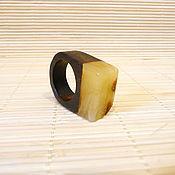 Украшения handmade. Livemaster - original item Amber ring size 17,5 P-118. Handmade.