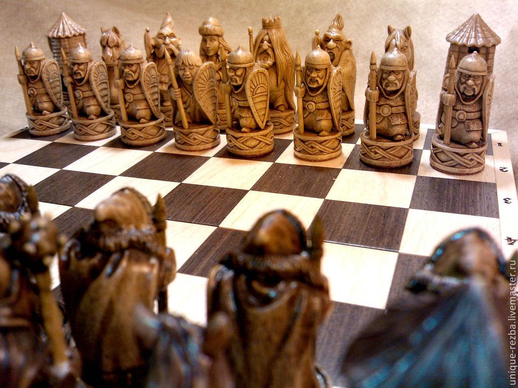 резные шахматы из дерева фото можно достаточно легко
