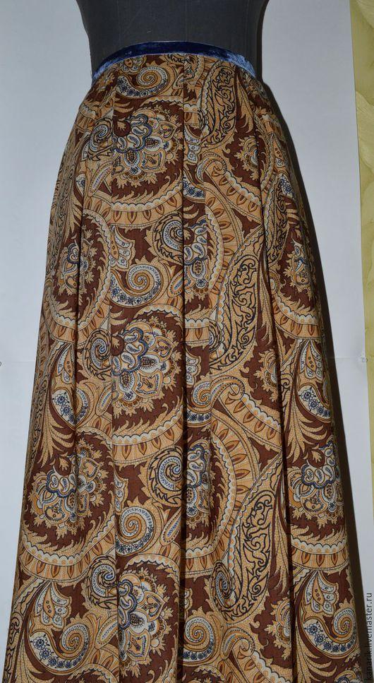 """Юбки ручной работы. Ярмарка Мастеров - ручная работа. Купить """"Восточная карамель"""" юбка. Handmade. Комбинированный, юбка макси"""