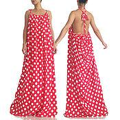 """Одежда ручной работы. Ярмарка Мастеров - ручная работа Ретро платье в горошек - """"CACADU"""". Handmade."""