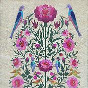 Картины и панно handmade. Livemaster - original item Embroidery - beautiful birds of Paradise. Handmade.