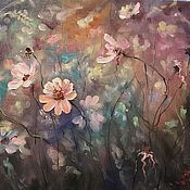 Картины и панно handmade. Livemaster - original item Wildflowers - the author`s oil painting. Handmade.