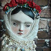 Куклы и игрушки ручной работы. Ярмарка Мастеров - ручная работа Тедди-долл Оксана. Handmade.