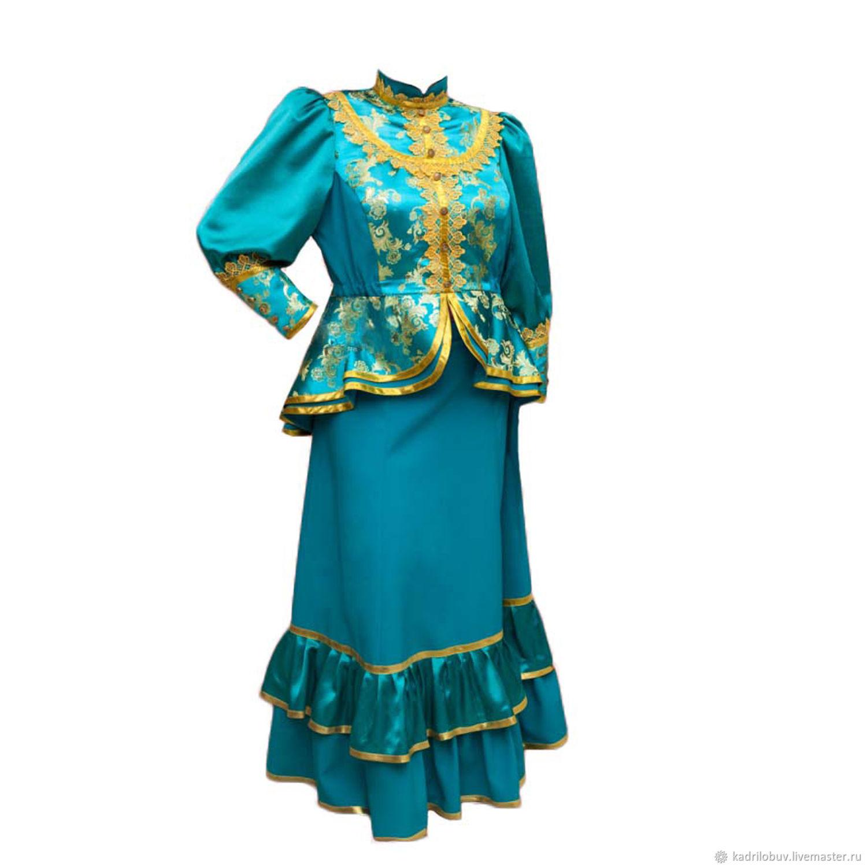 относится фотография женского кубанского казачьего костюма что когда-то