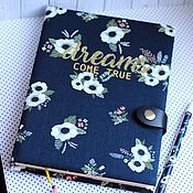 Канцелярские товары handmade. Livemaster - original item notebook Dreams. Handmade.
