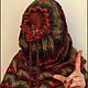 """Шарфы и шарфики ручной работы. Ярмарка Мастеров - ручная работа. Купить Снуд """"Краски осени"""". Handmade. Разноцветный, 100% шерсть"""