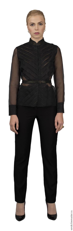 Блузки ручной работы. Ярмарка Мастеров - ручная работа. Купить Эксклюзивная блуза. Вечерняя.. Handmade. Блузка шелковая, блузка кутюр