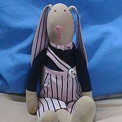 Мягкие игрушки ручной работы. Ярмарка Мастеров - ручная работа Игрушки: Заяц. Handmade.
