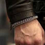 Украшения handmade. Livemaster - original item Men`s bracelet made of jewelry steel. Handmade.