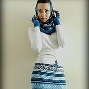 """Одежда ручной работы. Ярмарка Мастеров - ручная работа вязаный комлект """"Морозко"""". Handmade."""