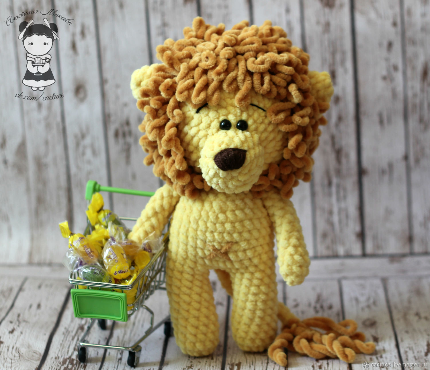 Crochet lion video tutorial and free crochet pattern. Learn how to ... | 1289x1500