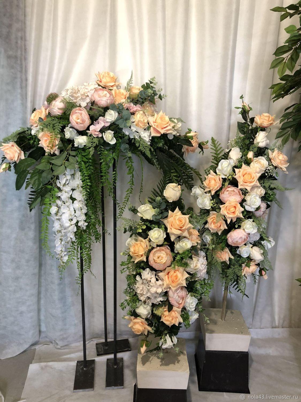 Свадебные цветы ручной работы. Ярмарка Мастеров - ручная работа. Купить Композиция для свадебной машины. Handmade. Цветы, свадебный декор