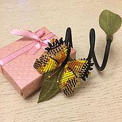 Украшения handmade. Livemaster - original item Flower girl BUTTERFLY bracelet (Felting). Handmade.