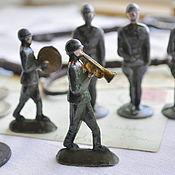Винтаж ручной работы. Ярмарка Мастеров - ручная работа Оловянные солдатики. Handmade.