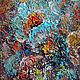 """Картина маслом """"Абстрактные цветы"""". Картины. Maslo-maslyanoe-2. Ярмарка Мастеров.  Фото №6"""